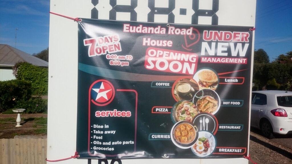 Eudunda Roadhouse Opening Soon banner