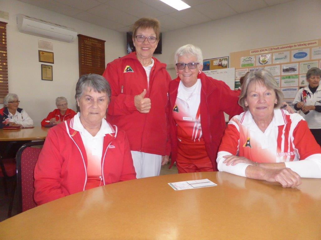 Joy Hams, Judy Milde, Ruth Scoot, Liz Kleinig