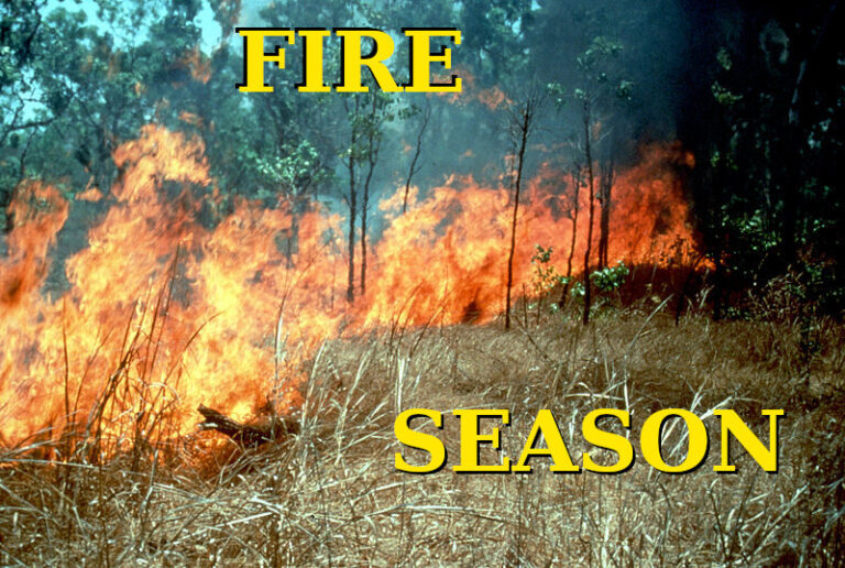 Mid North Fire Season Open – 15th Nov 2020 to 30th April 2021