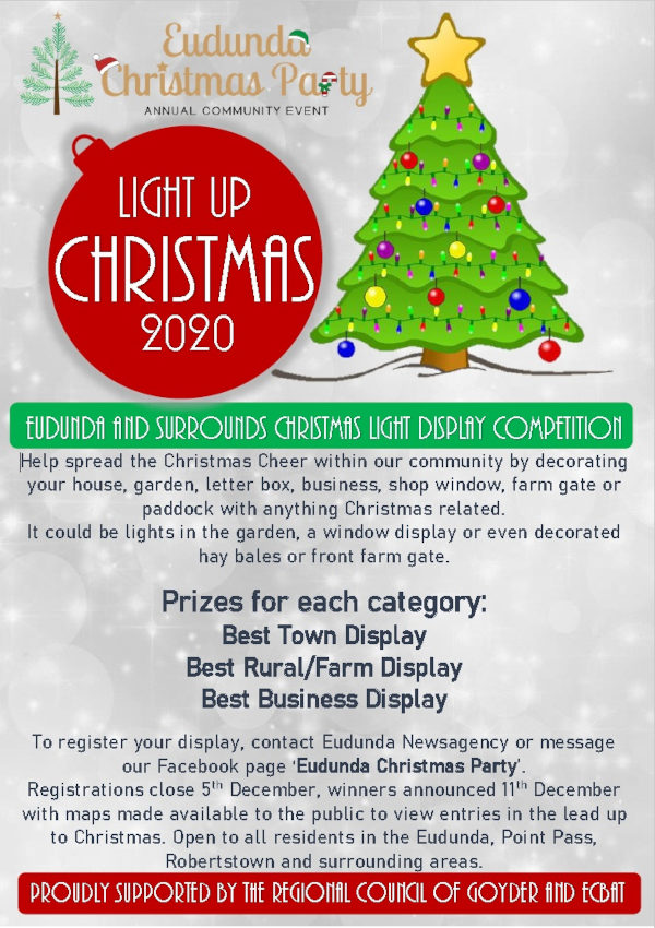 Light Up Christmas 2020 Competition Announced.