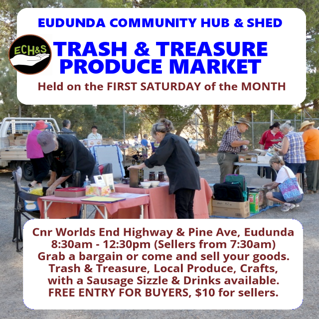 Looking For A Local Market? Next Trash & Treasure – Saturday 6th February 2021
