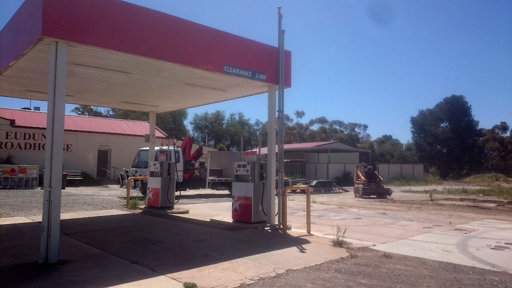 Eudunda Roadhouse - LPG Gas Tank and Bowser Shed Removed