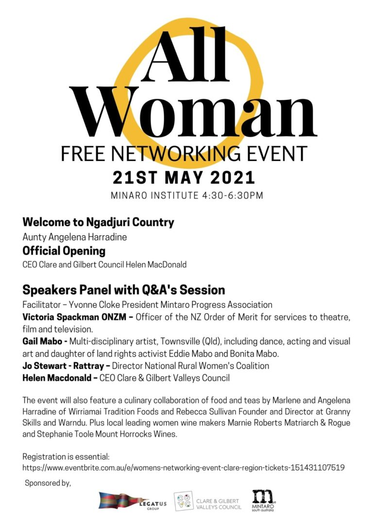All Woman Free Networking Event – 21 May 2021