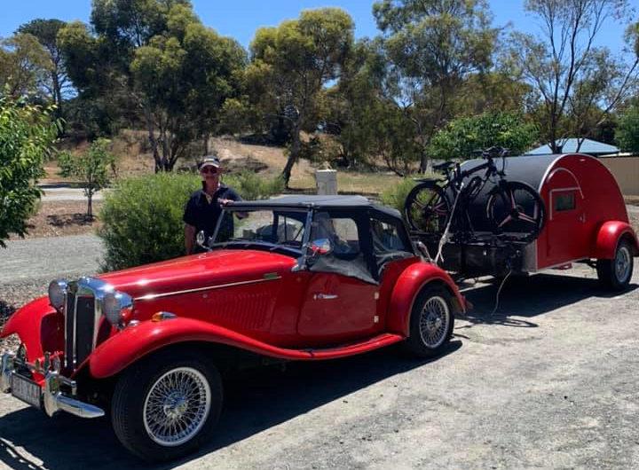 Beautiful Sports Car and Van Stay at Eudunda Caravan Park - Photo Steve