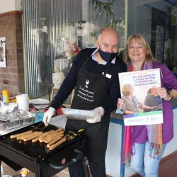 CarersSA Celebrated National Carers Week at Eudunda With a Friendly BBQ