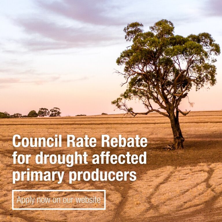 Applications Open – Council Rate Rebate for Drought Affected Primary Producers Through PIRSA