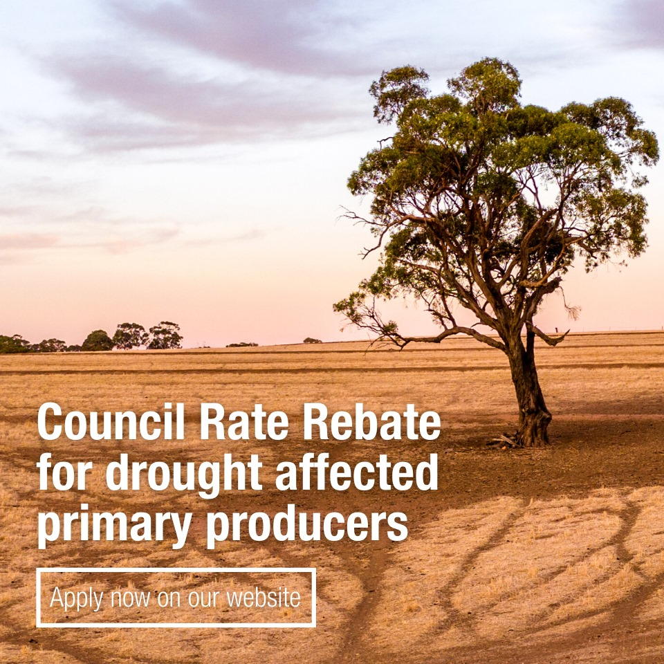 Council Rate Rebate for drought affected primary producers 2021