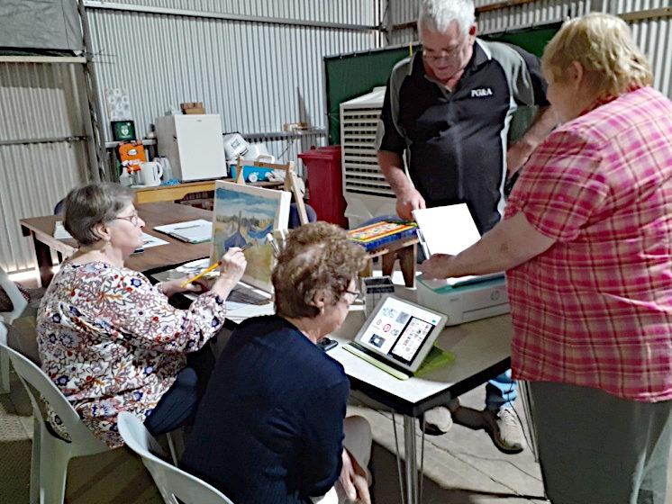 Country Arts SA Grant Helps Eudunda Community Hub and Shed With Technology