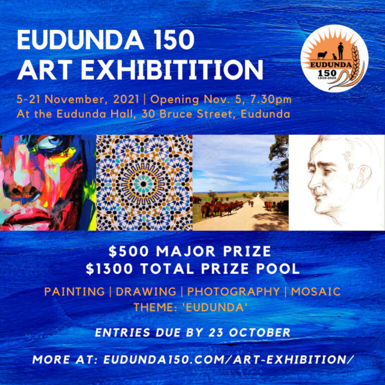 Eudunda 150th – Art Exhibition & Competition and Time Capsule