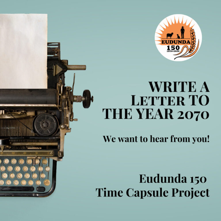 Eudunda 150th – Time Capsule To Tell Our Stories in 50 Years Time