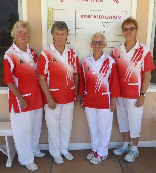 Eudunda's Ladies Singles and Pairs Champions