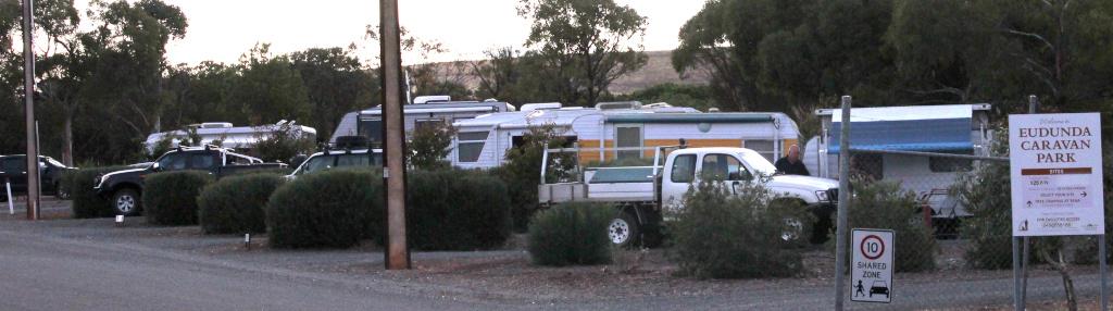 Eudunda Caravan Park - 6 bays full