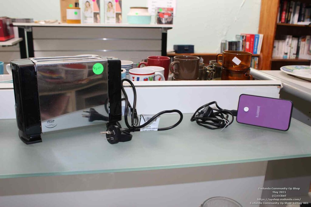 Eudunda Community Op Shop - Now Sell Electrical Items