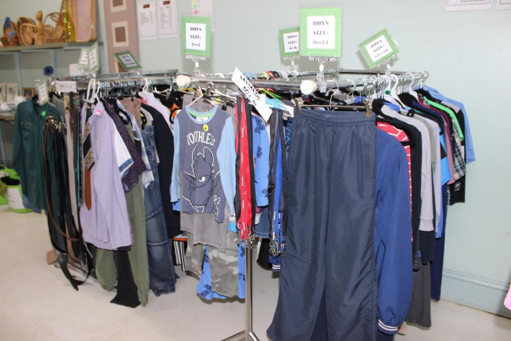 Eudunda Community Op Shop - Clothing Sale