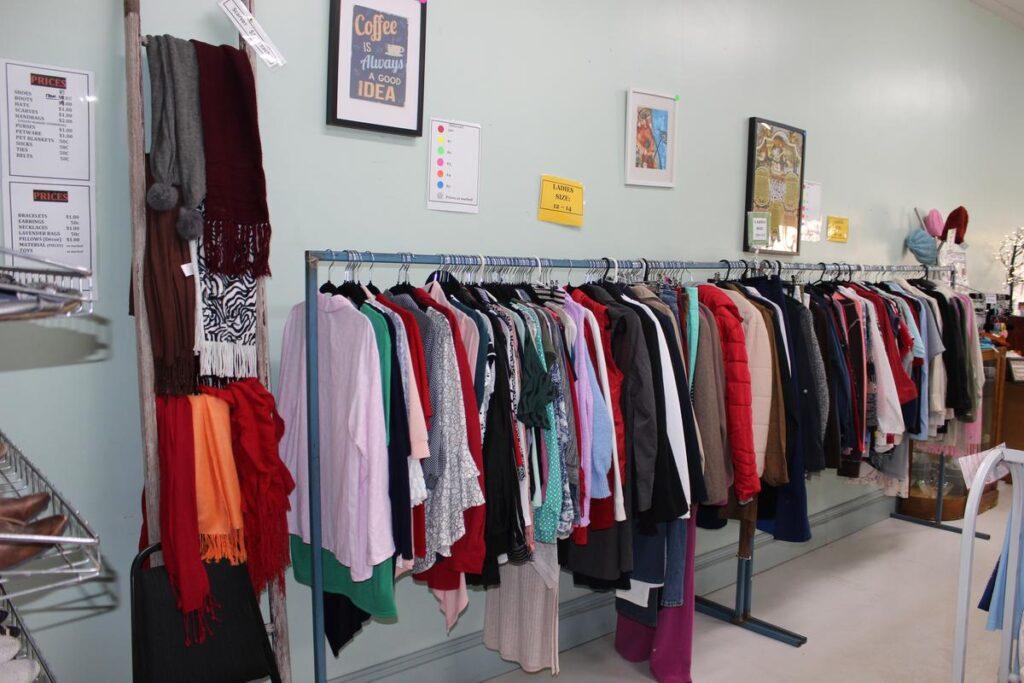 Eudunda Community Op Shop Clothing Sale