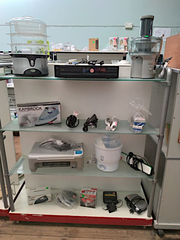 New Stock of Electrical Goods Available At The Eudunda Community Op Shop