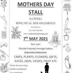 Mothers Day Flowers – Order Now! And Also Support The Stall – 7th May – Heritage Gallery