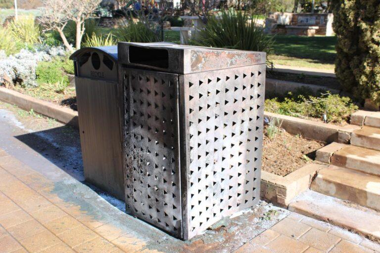 Local Business Comes To The Rescue in Eudunda Gardens Rubbish Bin Fire