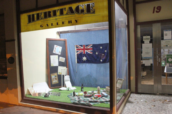 Eudunda Heritage Window Display – January 2021