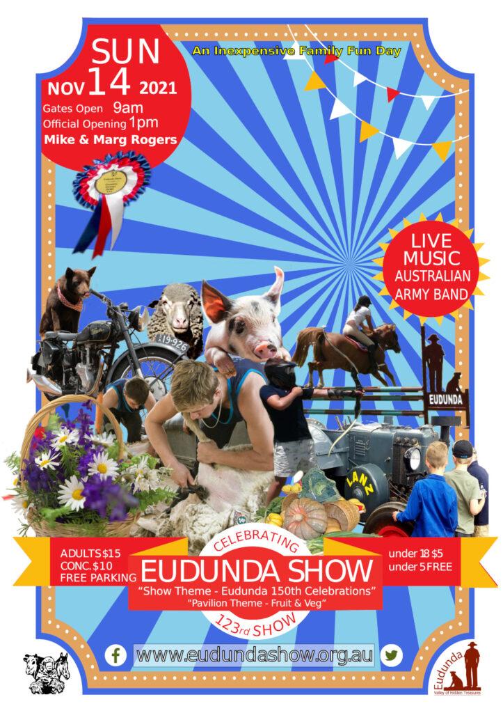 Eudunda Show Poster 14th Nov 2021