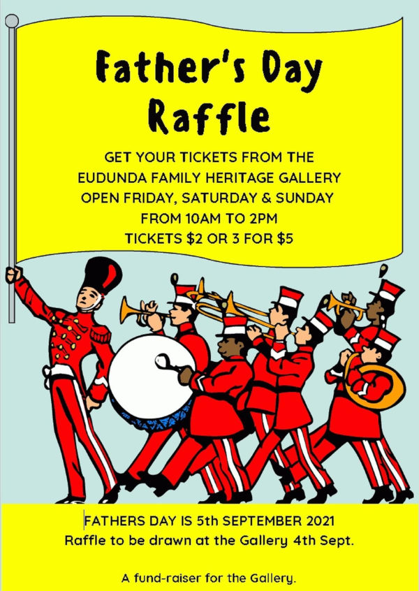Father's Day Is 5th Sept, Win The Heritage Gallery Raffle To Really Surprise Dad!!!