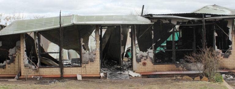 Young Family Lucky To Escape House Fire In Eudunda