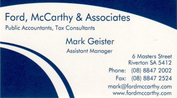 Ford McCarthy & Associates - ECBAT Business Member