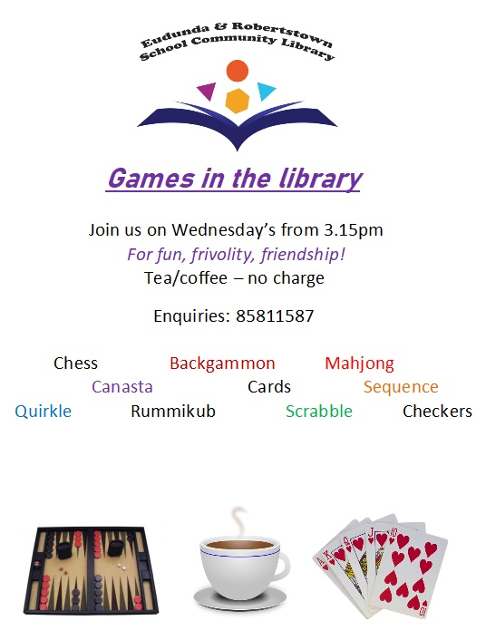 Games Fun In The Library On Wednesdays