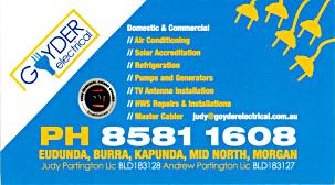 Goyder Electrical  - ECBAT Business Member