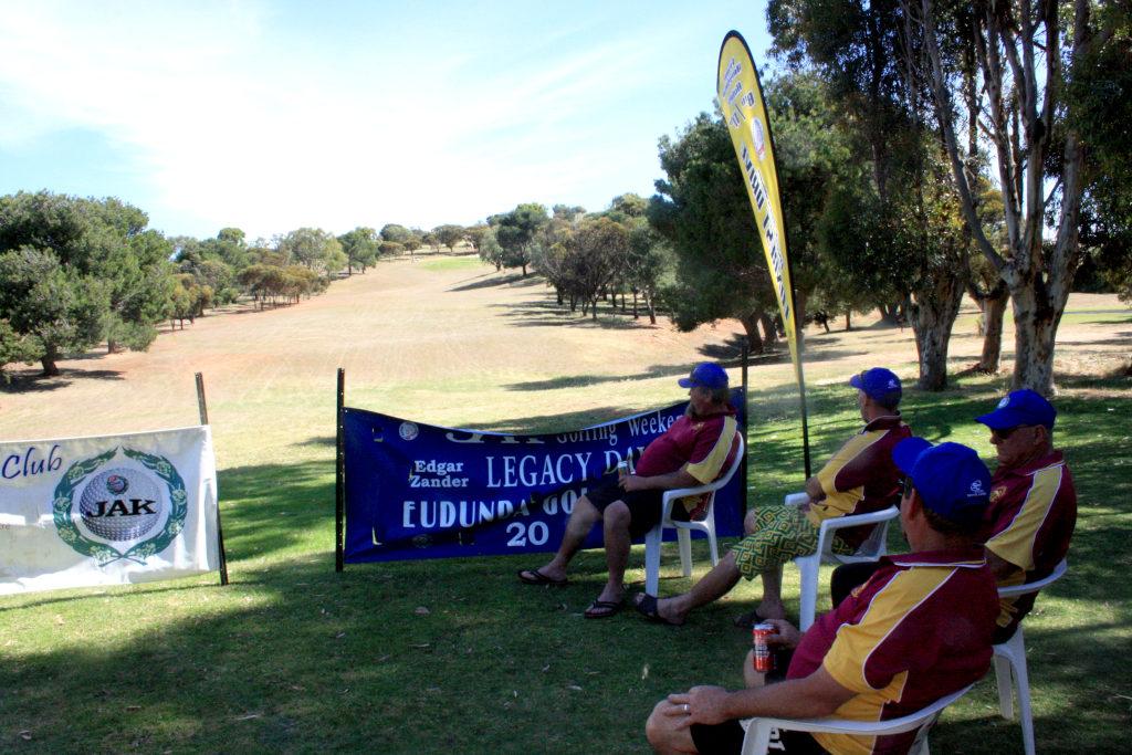 Eudunda Golf Club - COVID Golf 2020 - Hamley Bridge Team Relax after their day