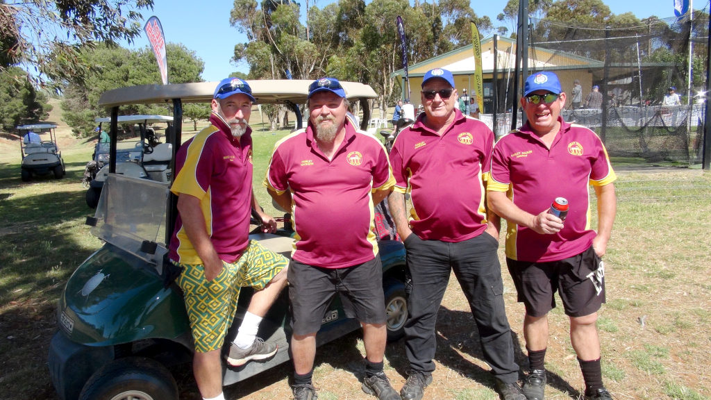 Hamley Hackers at the beginning of the Day went on to win the Eudunda Open