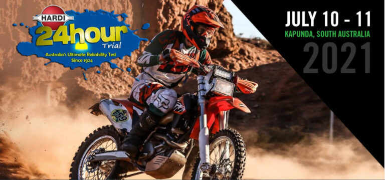 This Weekend to see big motorcycle action with Hardi 24 Hour Trial at Kapunda 10th – 11th July 2021