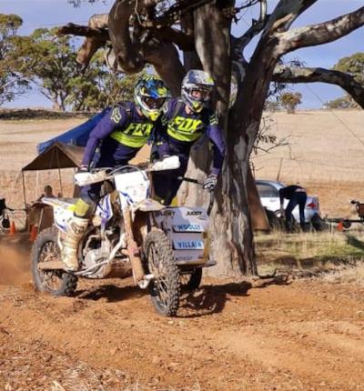 Lew Job 2 Day Trial 2021 - Sidecar 5 - Daniel Plowman - Shane Judd 2- Photo Kristy Schultz