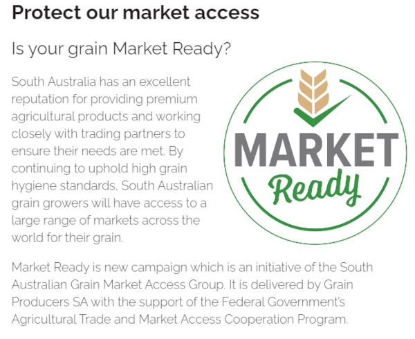 Helping Protect Our Grain Market Access & Diversification Also A Key to $6 Billion Dollar Future