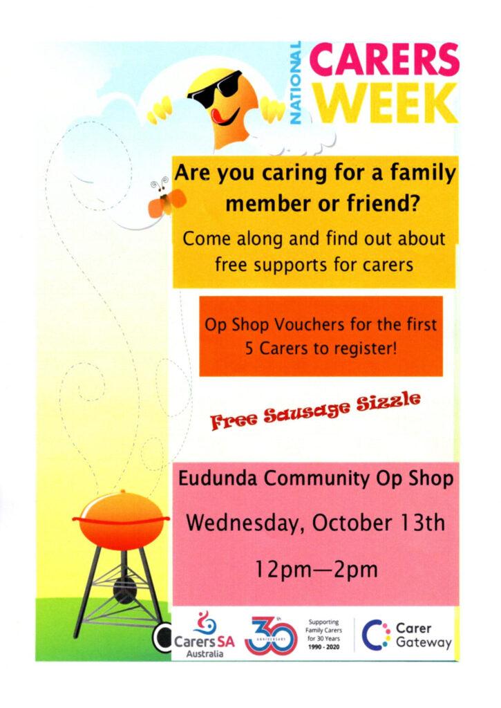 National Carers Week at Eudunda 13th Oct 2021