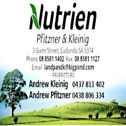 Nutrien – Pfitzner & Kleinig – ECBAT Business Member 2021-2022