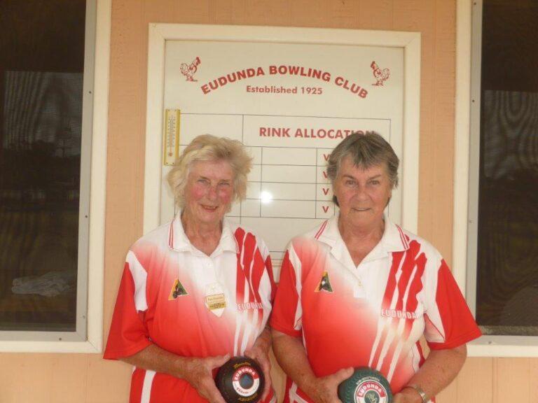 Pam Dutschke is Eudunda Ladies Singles Champion