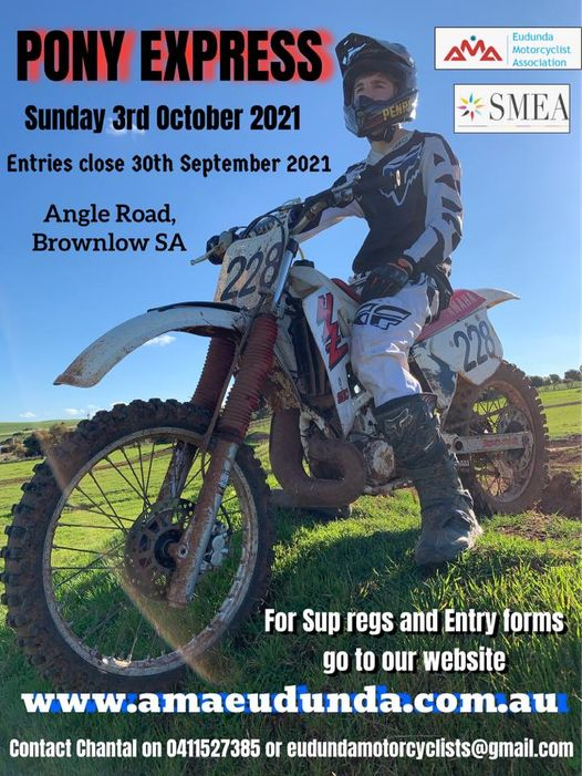 Motorcycle Action This Sunday 3rd October 2021 at Brownlow