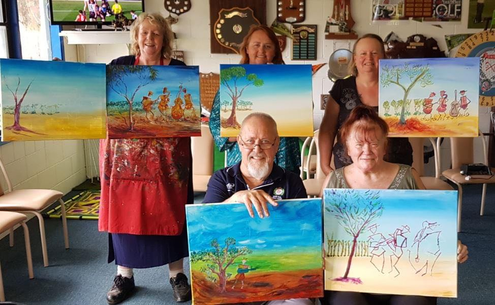 Previous Art Workshop at Eudunda 27th Mar 2021 by Alannah Cheshire