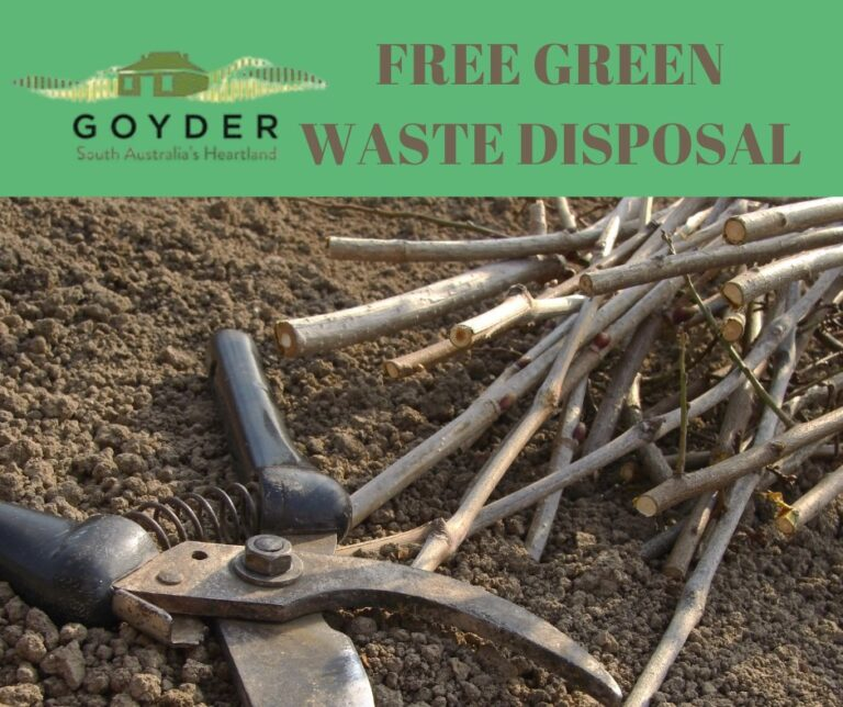 Reminder Council Offering FREE Green Waste Disposal to Reduce Fire Risk – Only 5th, 9th & 12th December Remaining To Take Advantage.