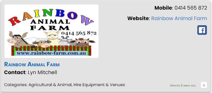 Rainbow Animal Farm - ECBAT Business Member