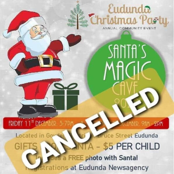 Sad News For Local Children As Santa's Magic Cave CANCELLED