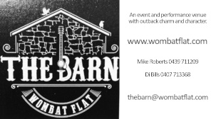 The Barn at Wombat Flat - ECBAT Business Member