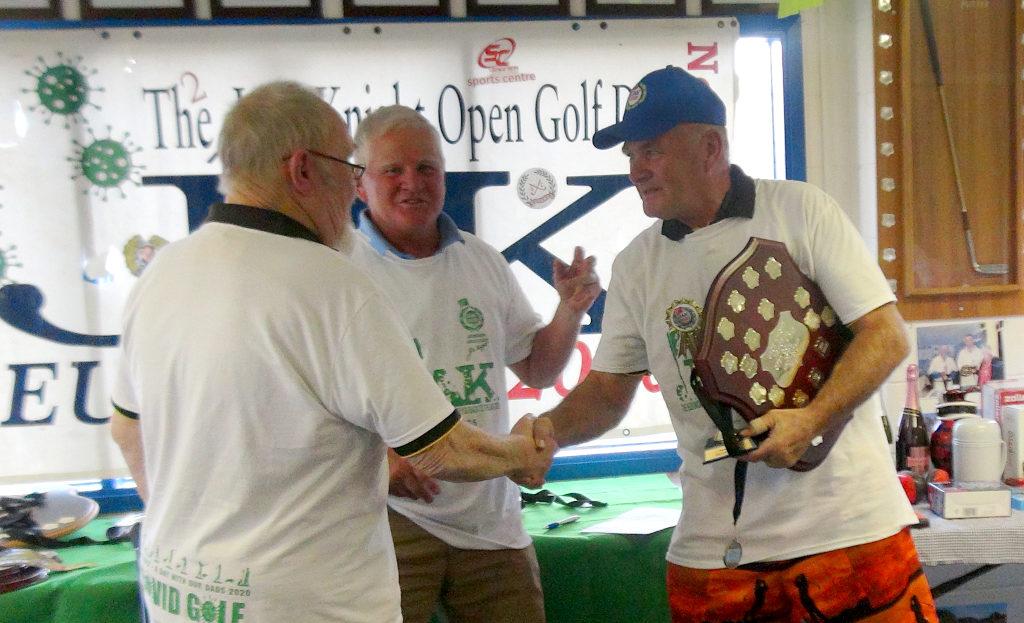 Tim Knight wins Best of Stick at 2020 JAK Golf Day