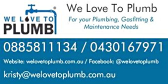 We Love To Plumb - ECBAT Business Member