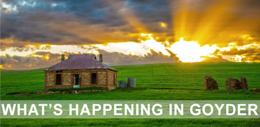 Whats Happening in Goyder - Newsletter
